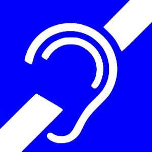 ikona niesłyszący